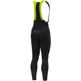 Alé Cycling Clima Protection 2.0 Clima Be Hot Cuissard long Homme, black fluo yellow